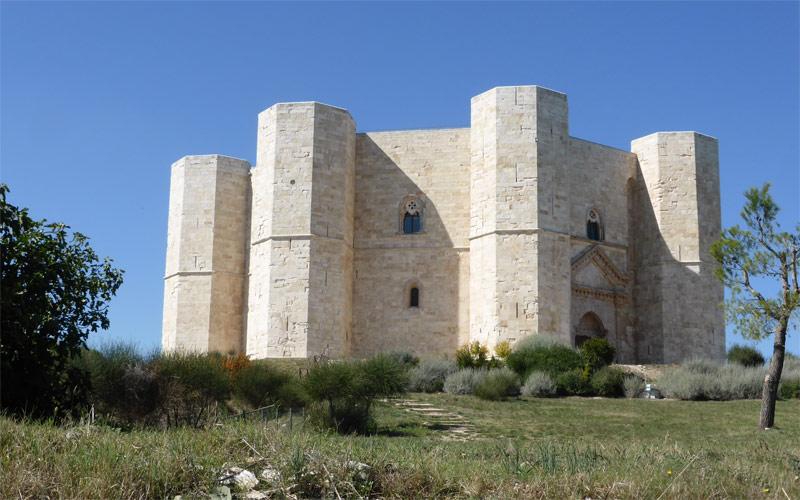 Castel del Monte in Puglia, Italy