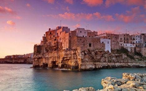 Puglia points of interest - Polignano a Mare