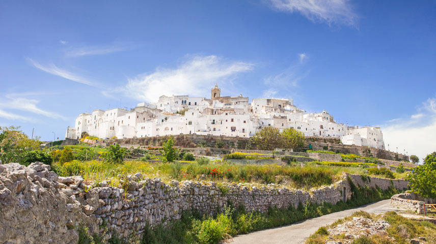 Guide to Puglia Ostuni panoramic view