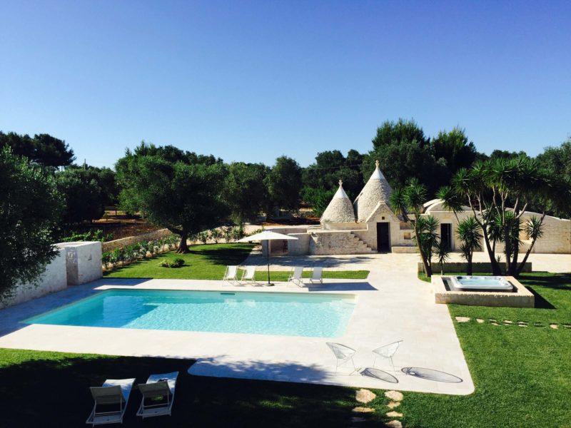 Villa for large groups in Puglia
