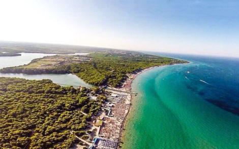 Balnearea beach club Puglia, Italy