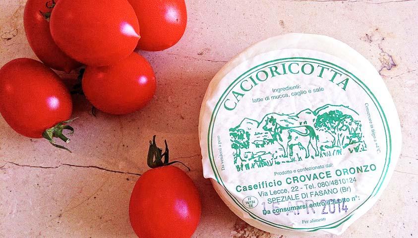 italian cheese cacioricotta