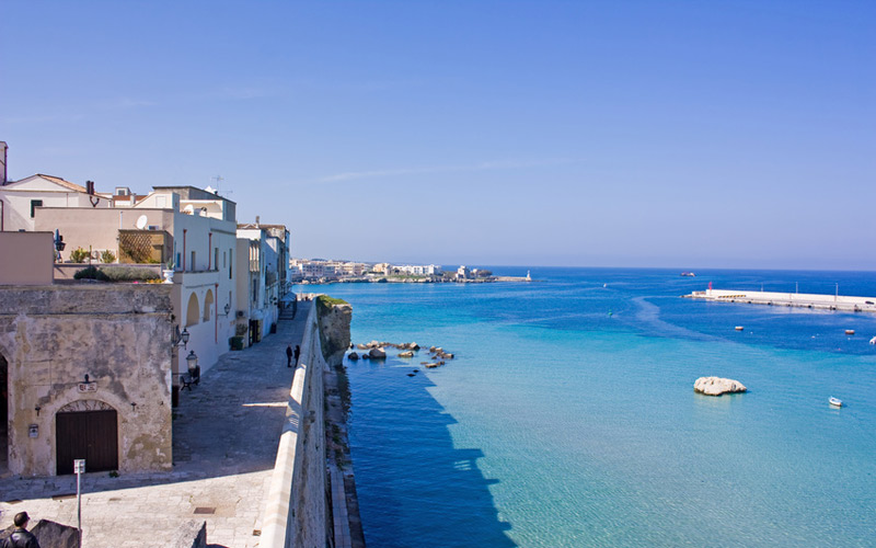 Fantastic Puglia Holidays along the coastline of Otranto
