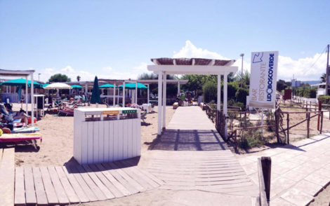 Lido Bosco Verde Beach Club Puglia, Italy