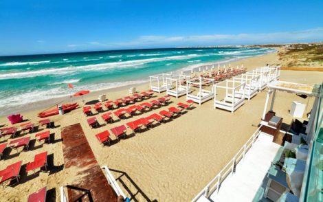 Samsara best beach clubs in Puglia, Italy
