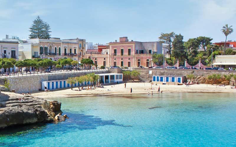 beautiful beach in Puglia