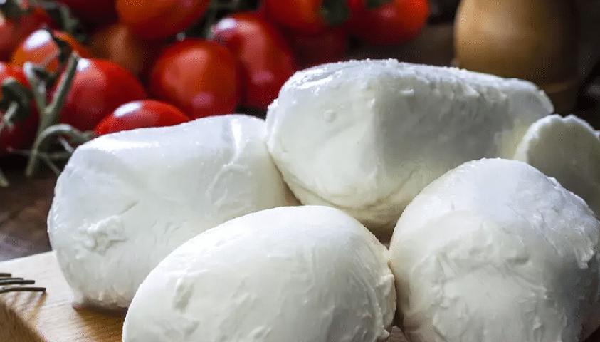 Mozzarella cheese in Puglia