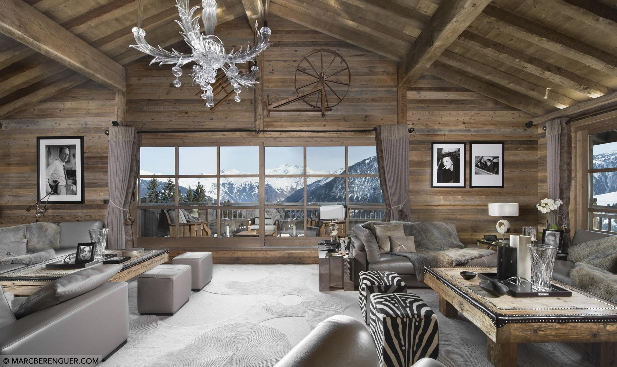 Ski Chalet Interior Design luxury ski chalets in courchevel - aria journeys