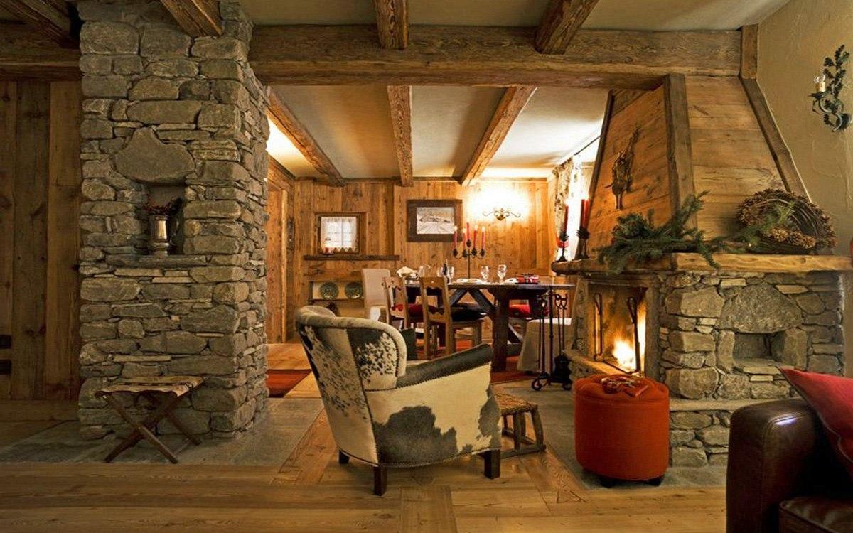 Chalet de ski de luxe dans les Alpes italiennes